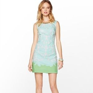 Lilly Pulitzer Ice Blue Eyelet Lace Capricia Dress